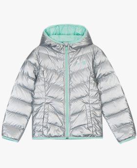 걸즈 UA 메타 멜로우퍼프 다운 재킷