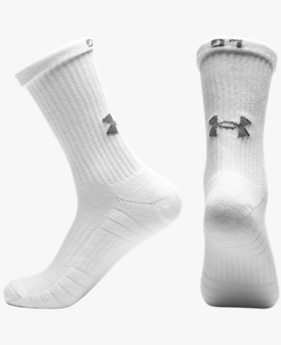 Paquete de 3 Calcetines UA Training Cotton Crew para Adulto