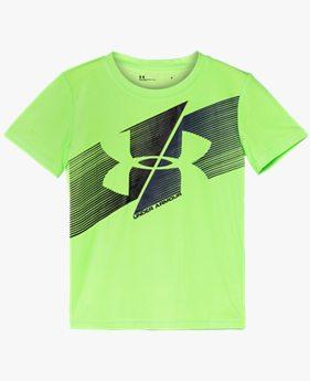 Boys' Pre-School UA Slash Icon Short Sleeve
