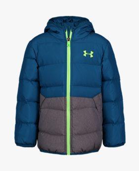 보이즈 프리스쿨 UA 스웜다운 재킷