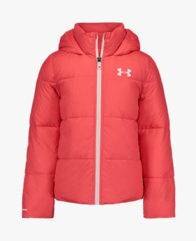 걸스 UA 브릴리언스 볼륨 푸퍼 재킷