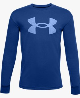 Boys' UA Hoopsreal Long Sleeve