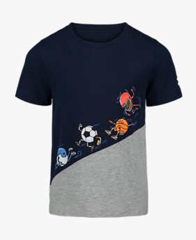 Boys' Pre-School UA Ball Team Short Sleeve