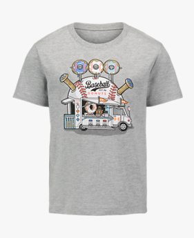 Boys' Pre-School UA Baseball Donuts Short Sleeve