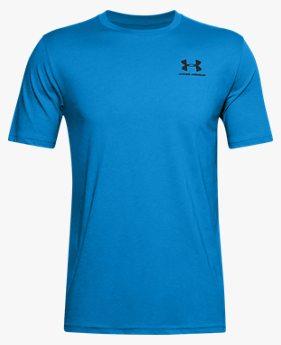 Camiseta de Treino Masculina Under Armour Left Chest