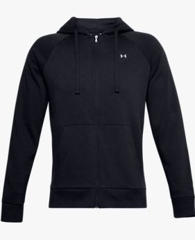 Moletom de Treino Masculino Under Armour Rival Fleece Full Zip
