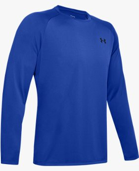 Camiseta de Treino Manga Longa Masculina Under Armour Tech 2.0 LS