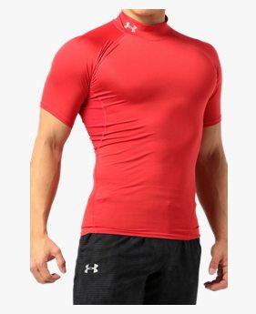UAヒートギアアーマー モック ショートスリーブ(トレーニング/半袖ベースレイヤー/MEN)
