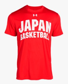 UAバスケットボール男子日本代表 テックT <JAPAN>(バスケットボール/MEN)
