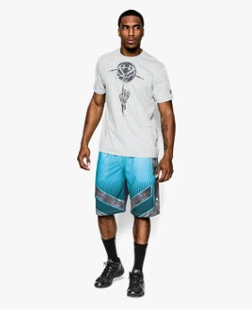 Men's UA ArmourVent™ Spottie Ottie Basketball Shorts