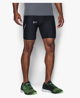 Erkek UA Run True Yarım Tayt
