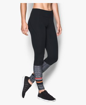 Calça Legging UA Mirror Striped Feminina