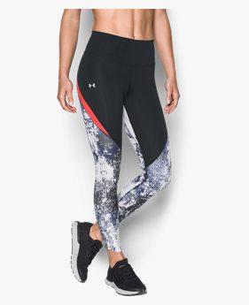 Kadın UA Run True Printed Tayt