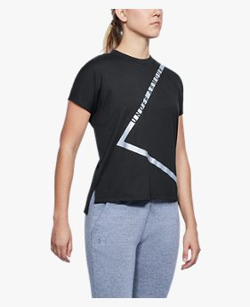여성 UA 에센셜 트라이앵글 티셔츠