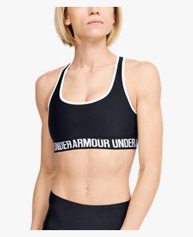 Women's UA Crossback Mid Sports Bra
