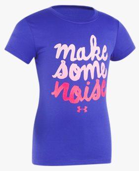 걸즈 프리스쿨 UA Make Some Noise 티셔츠