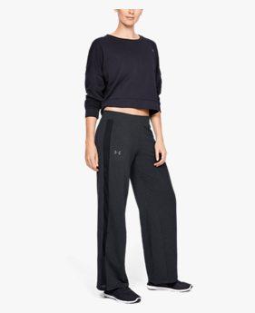 여성 UA 페더웨이트 플리스 패션 팬츠