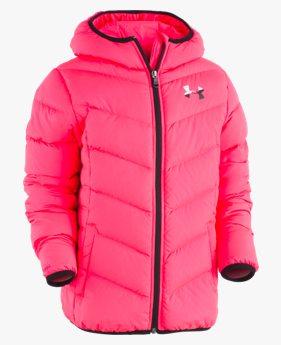 걸즈 프리스쿨 UA 말로우퍼프 다운 재킷