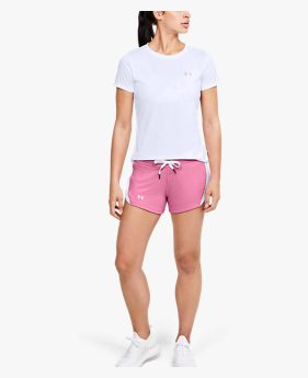 Shorts UA Tech™ Terry para Mujer