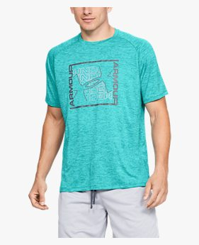 Camiseta UA Tech™ Graphic Short Sleeve Masculina
