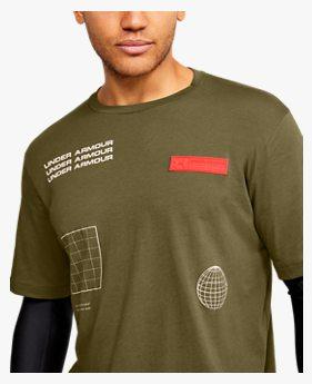 남성 UA 트렉 투인원 티셔츠