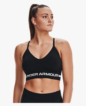 Women's UA Seamless Low Long Sports Bra