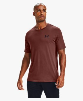 Camiseta de Treino Masculina Under Armour Left Chest