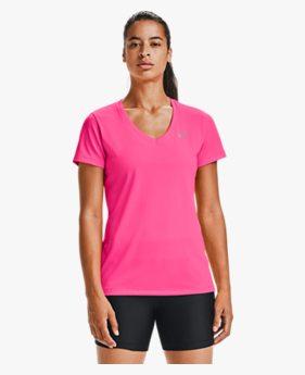 Camiseta de Treino Feminina Under Armour Tech V Neck