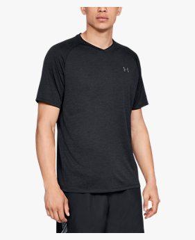 Camiseta de Treino Masculina Under Armour Tech 2.0 V-Neck
