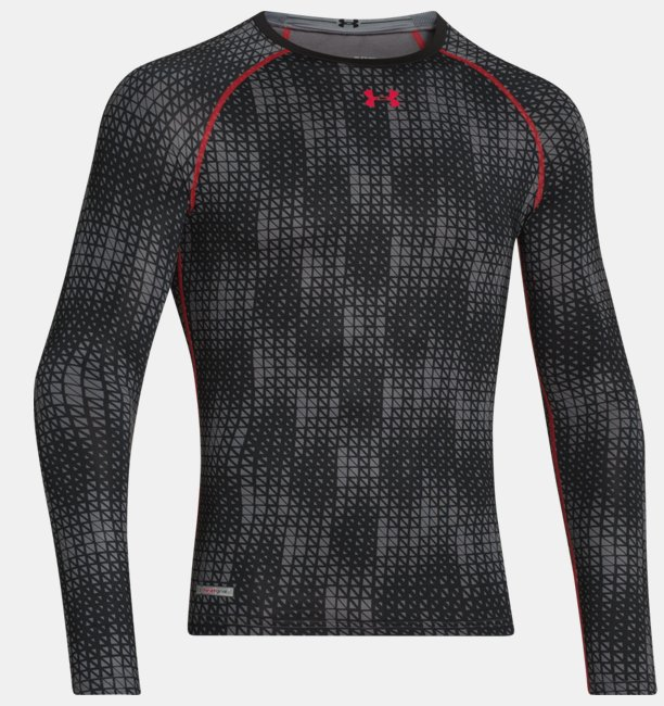 Homme T Sonic À Compression Pour Shirt Longues De Manches Heatgear® fg7b6y