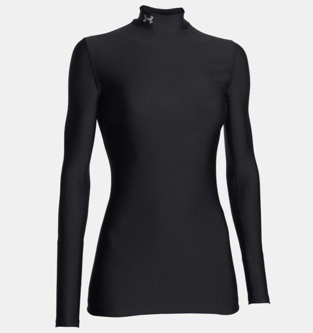 3b10aa20c Women's UA ColdGear® Long Sleeve Compression Mock   Under Armour UK
