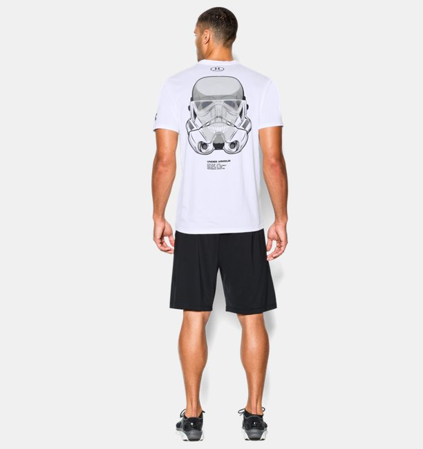 ... Mens Star Wars UA Skull Trooper T-Shirt ... 762f8d92a