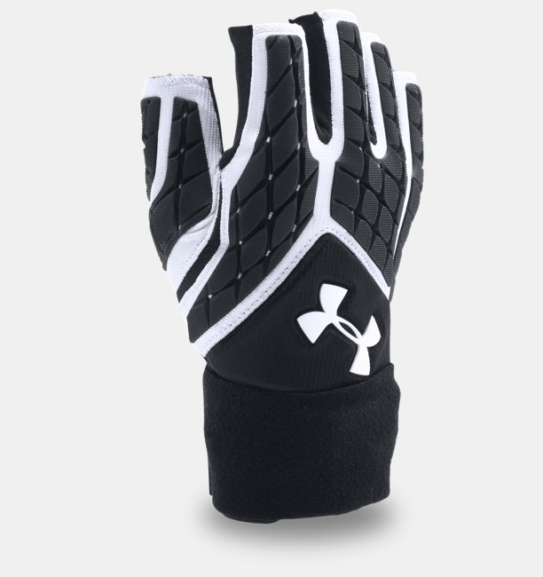 Men's UA Combat V Half-Finger Football Gloves