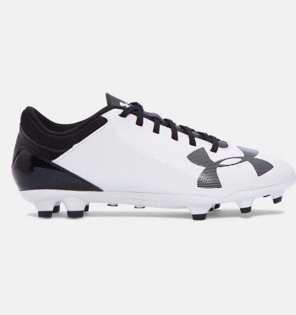de34a42e90f99 Zapatos de Futbol UA Spotlight DL FG JR para Niños