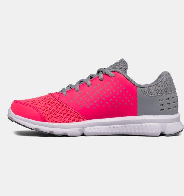 Girls Grade School UA Micro G® Rave Running Shoes