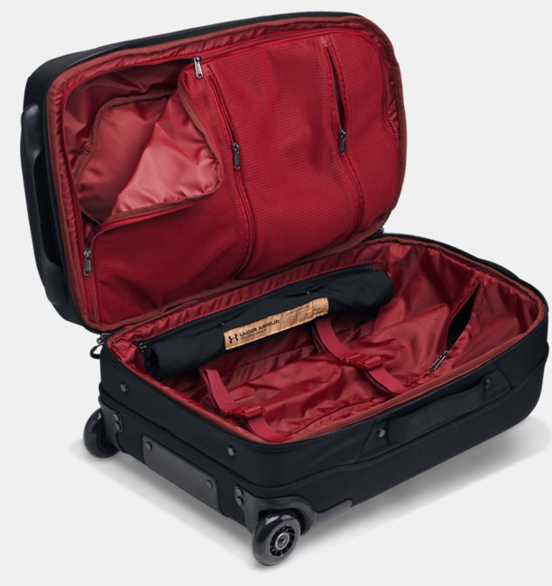 UA Checked Rolling Suitcase