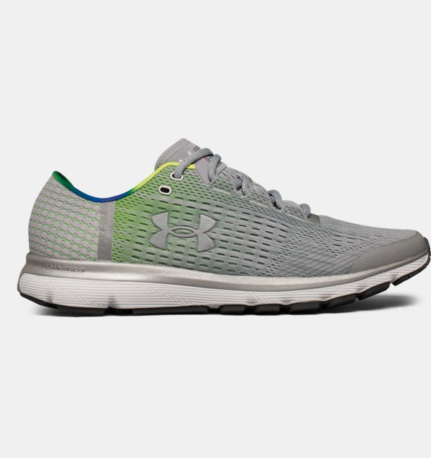 newest 9a9ea 88e88 Men's UA SpeedForm® Velociti Graphic Record-Equipped Running Shoes