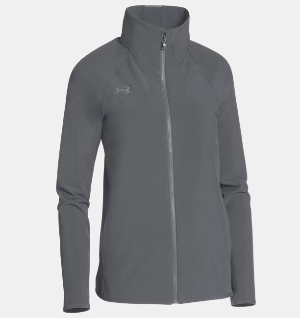 Womens UA Squad Woven Full Zip Jacket
