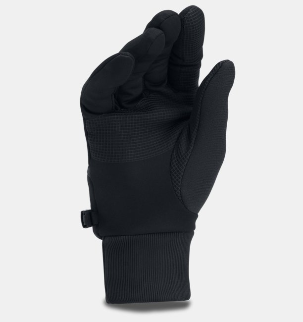 Mens UA Convertible ColdGear® Reactor Run Gloves