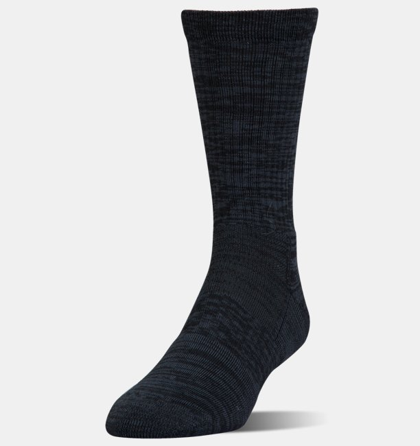 UA Phenom Twisted Crew Socks - 3-Pack