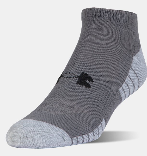 HeatGear® Tech No Show Socks 3-Pack
