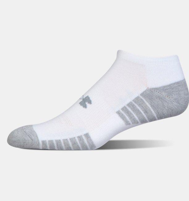 f58463e3c HeatGear® Tech No Show Socks 3-Pack | Under Armour UK