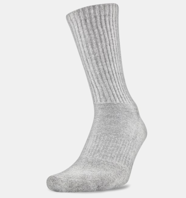 450bd2934e44 UA Charged Cotton® 2.0 Crew Socks | Under Armour BE
