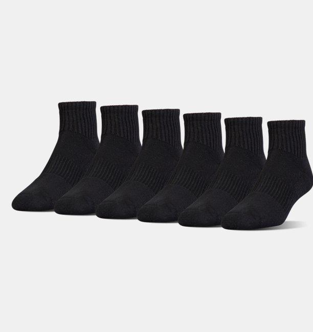 UA Charged Cotton® 2.0 Quarter Socks