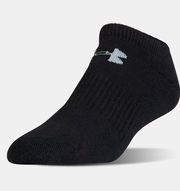 UA Charged Cotton® 2.0 No Show Socks