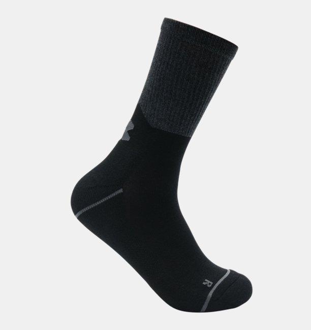 Mens UA Phenom Crew – 3-Pack Socks