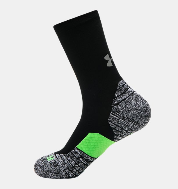 UA Run Cushion Crew Socks