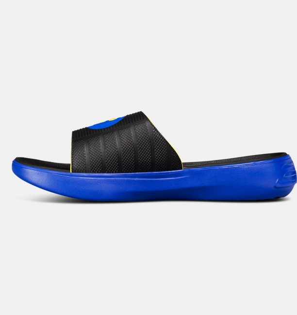 Mens UA Curry 4 Slides