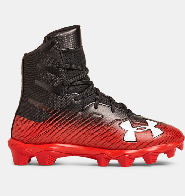 Boys UA Highlight RM Jr. Football Cleats