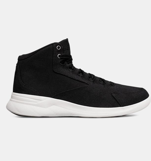 Womens UA Charged Pivot Mid Canvas Sportstyle Shoes
